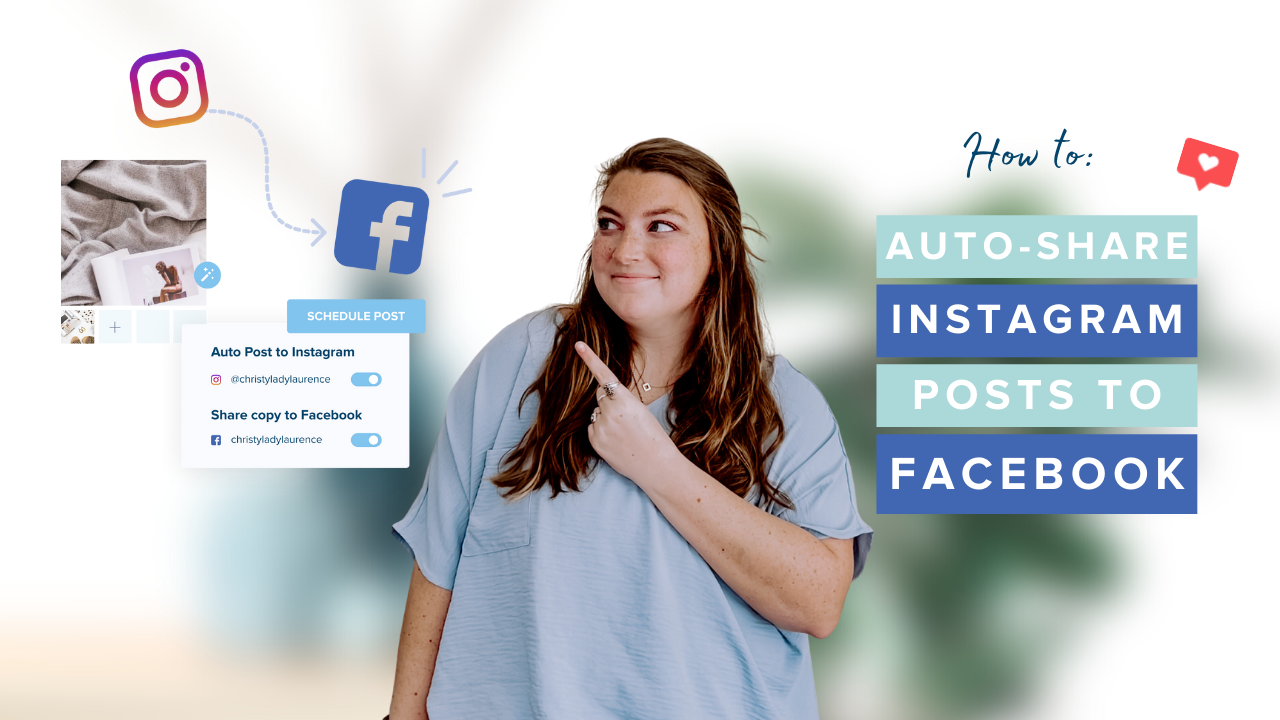 Auto-share Instagram Posts to Facebook