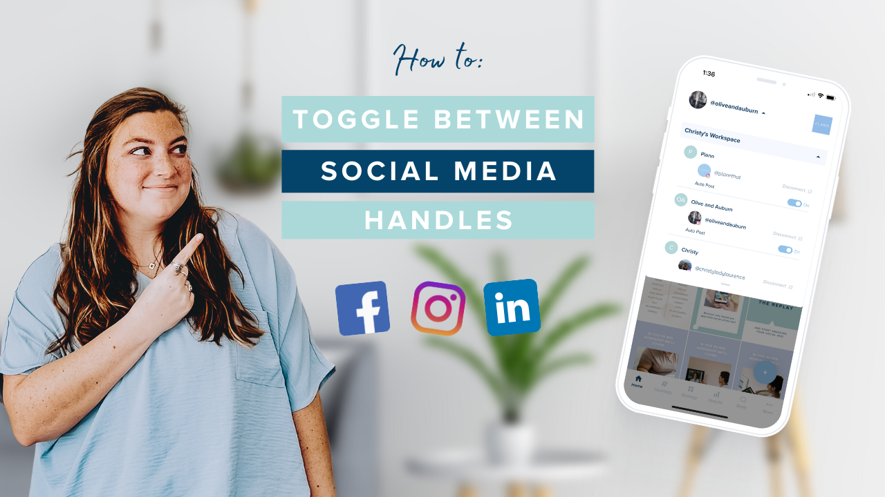 How to Toggle Between Social Media Handles