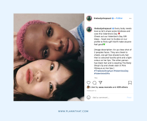 Corporate social media inclusion