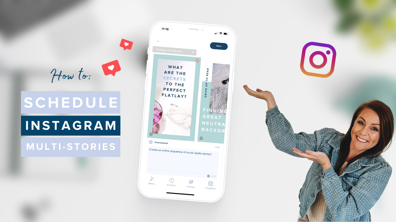 How to Schedule Instagram Multi Stories