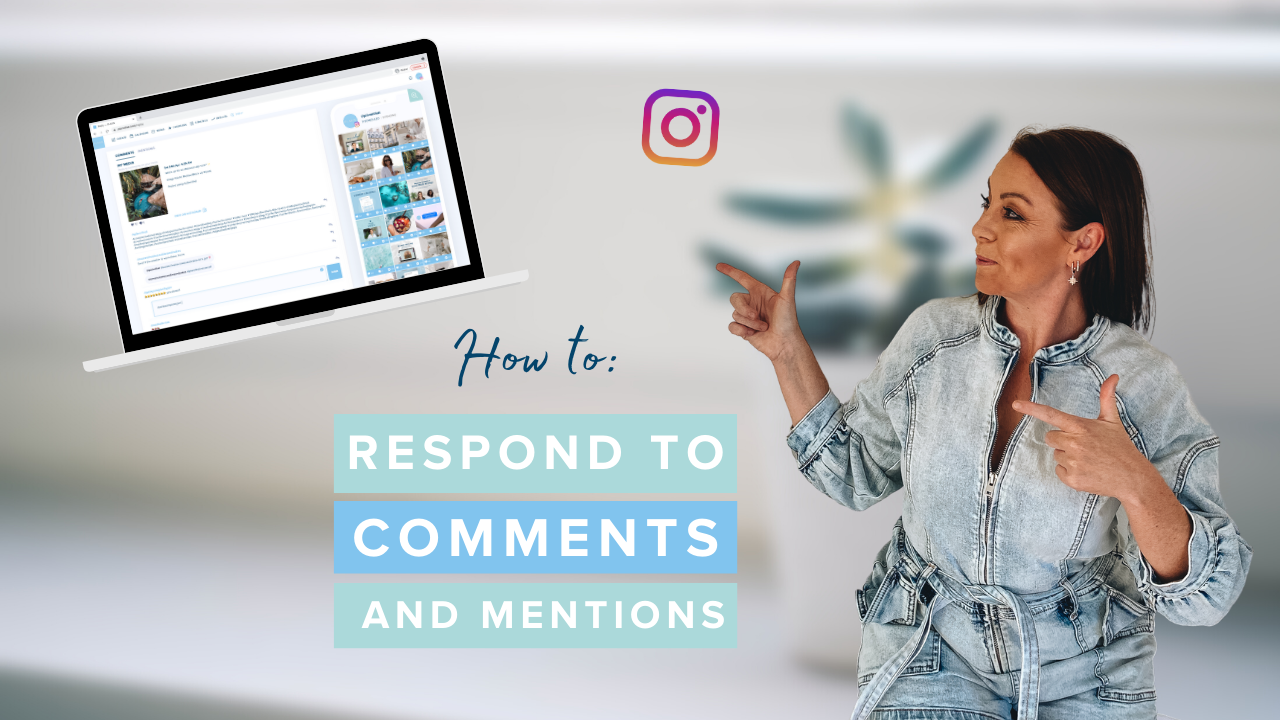 How to Respond to Comments and Mentions
