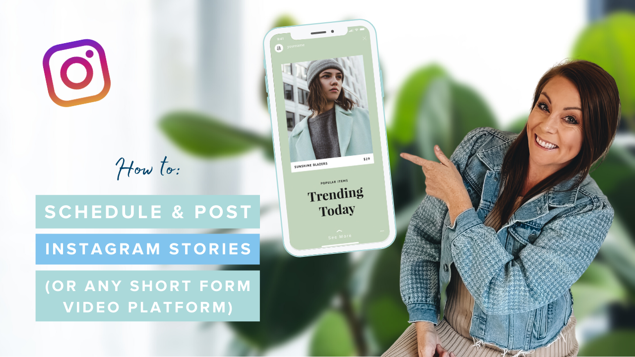 How to Schedule & Post Instagram Stories