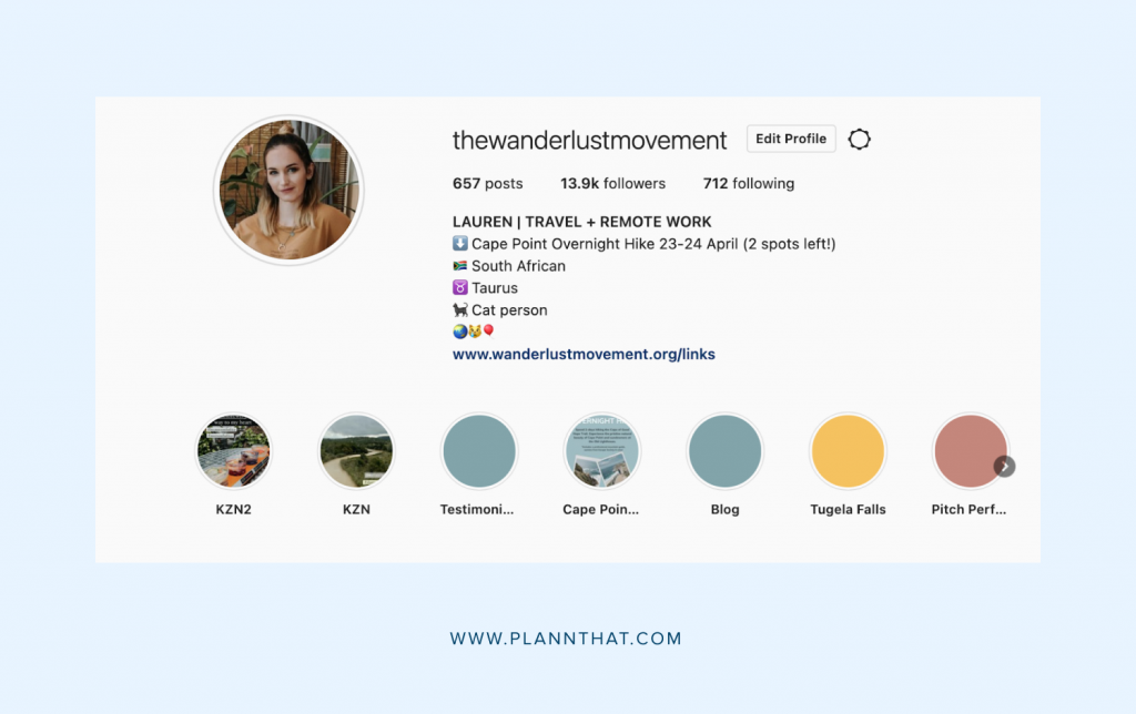 Edit Your Instagram Bio With Spaces on Your Desktop