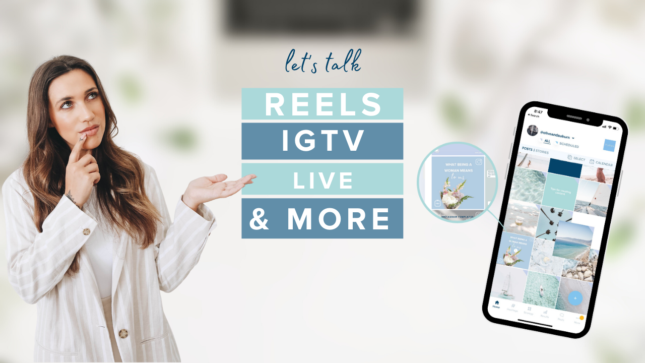 Let's Talk About All Things Video - Reels, Lives, IGTV, and more!