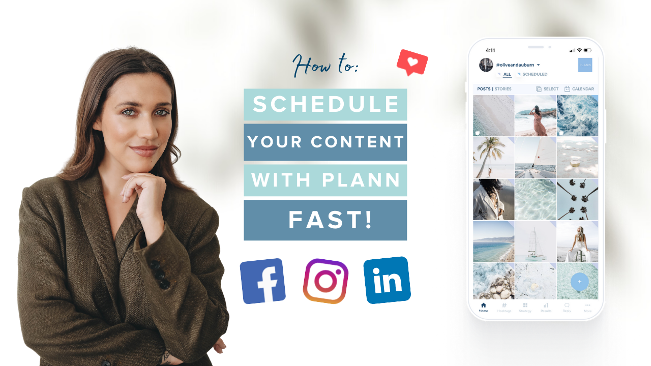 Schedule One Week of Content with Plann (Fast!)