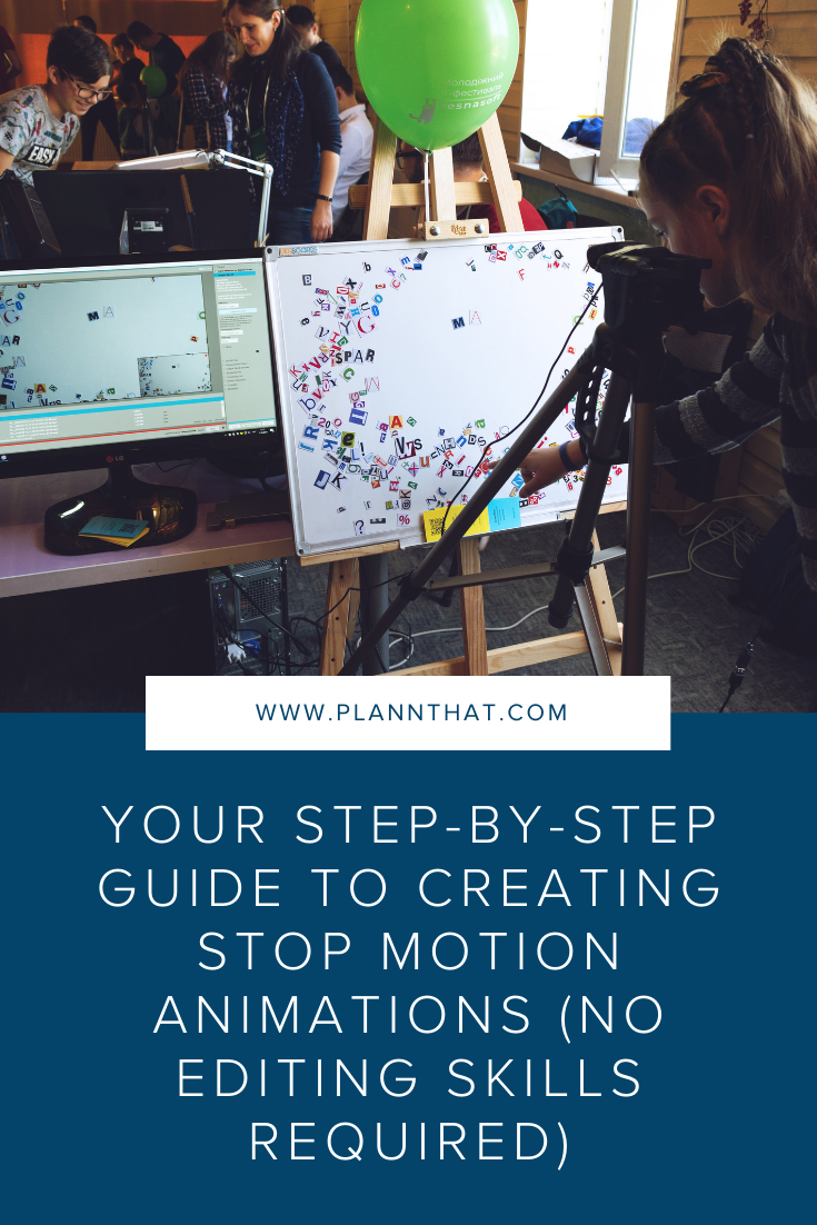 How to create stop motion
