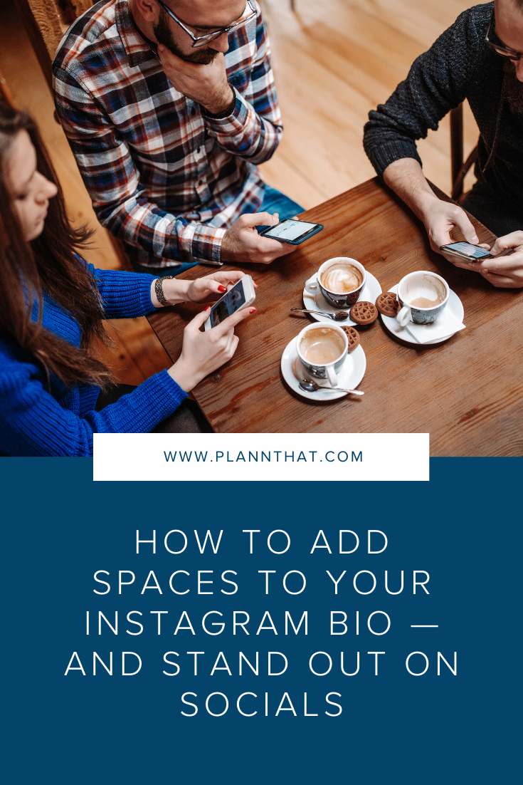 How to Add Spaces to Your Instagram Bio