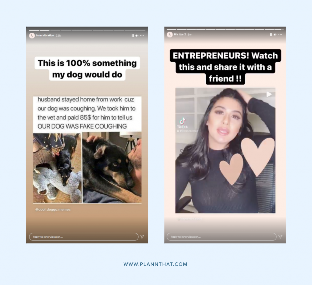 inspiration creative instagram stories