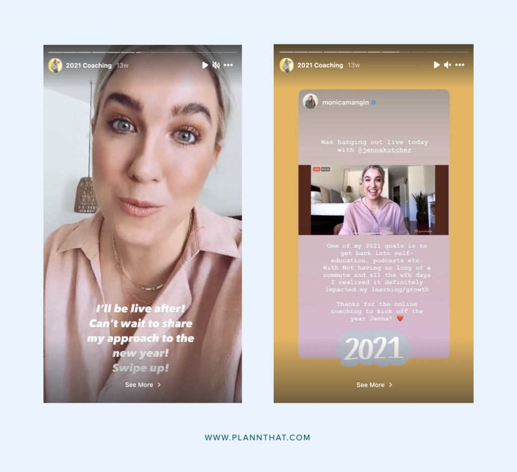 instagram stories design inspiration