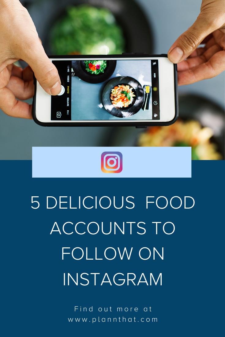 Food Instagram pin