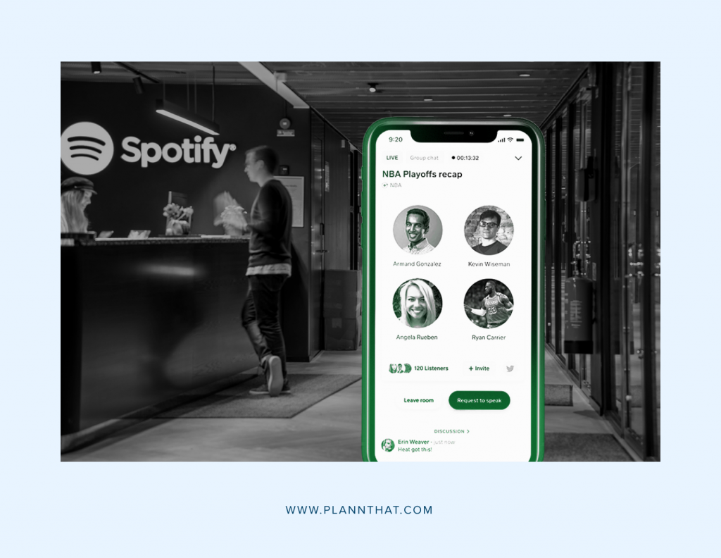 Spotify Clubhouse