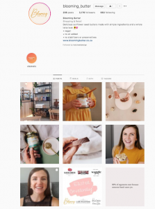 blooming butter food instagram