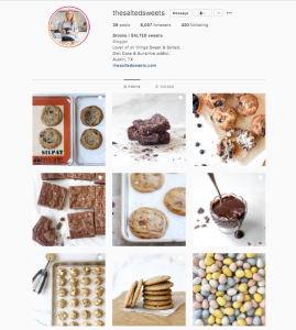 the salted sweets food instagram