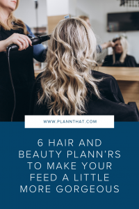 6 Hair and Beauty Plannrs Pin