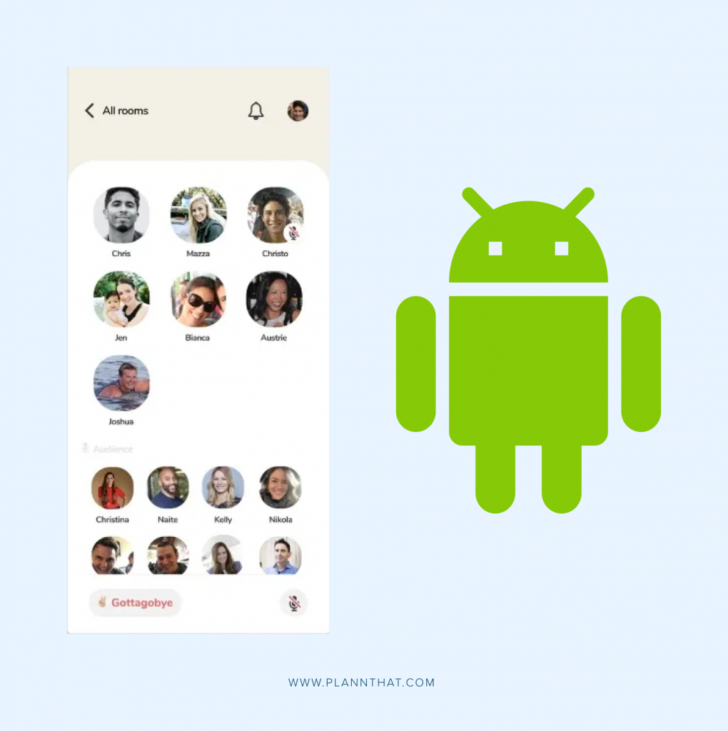 Android Clubhouse rollout