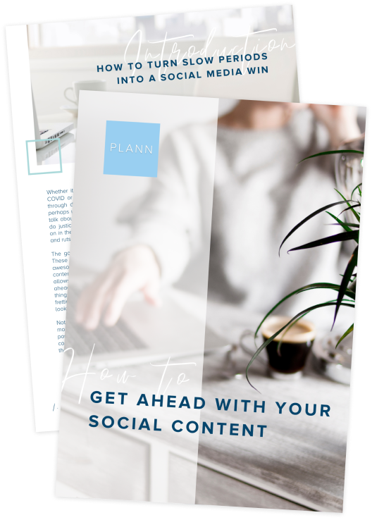 How To Get Ahead With Your Social Media Content In Slow Times