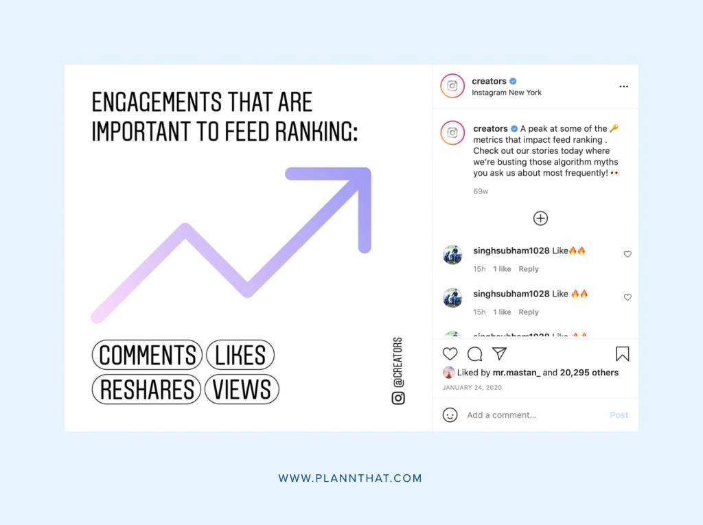 Metrics that grow - Comments 1