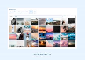 peruse stock photo sites