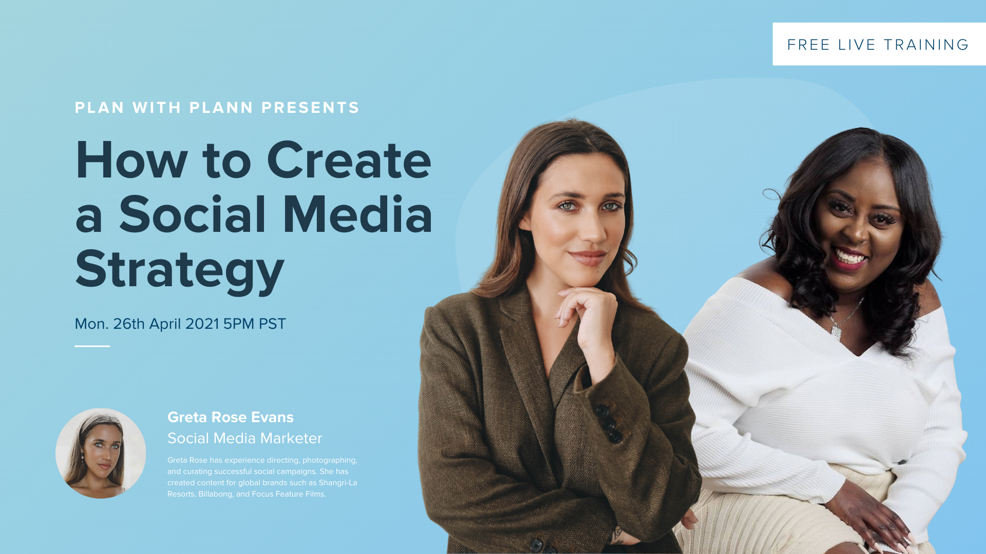 Plan with Plann: How to Create A Social Media Strategy
