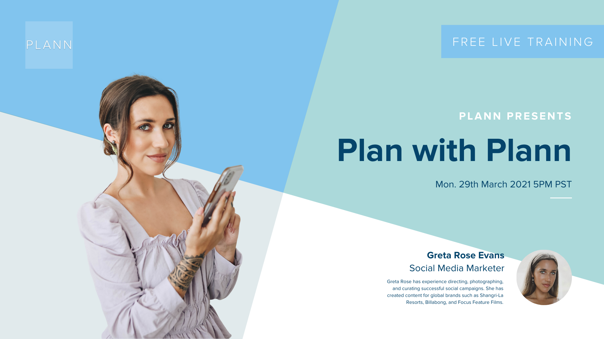 Plan with Plann: Increasing Your Social Media Visibility