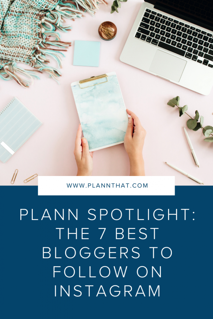7 best bloggers to follow on Instagram