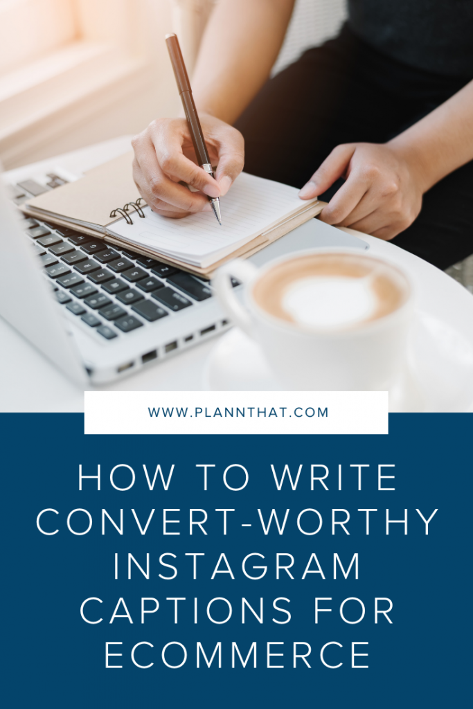 Instagram captions for eCommerce