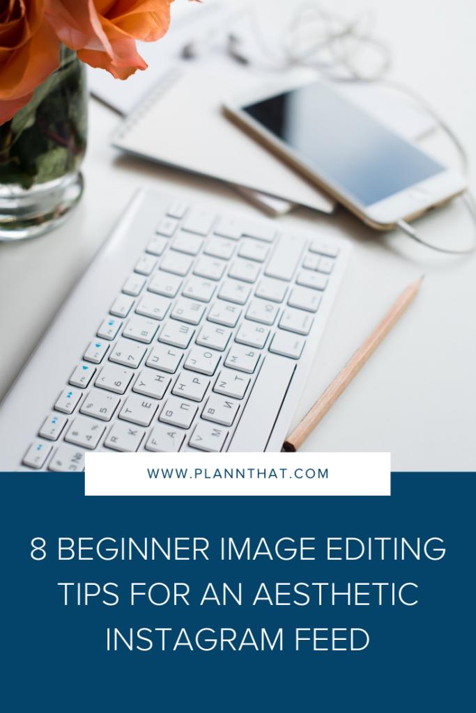 Beginner Image Editing Tips Pin