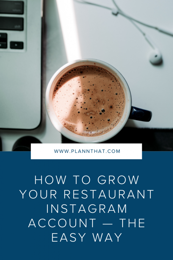 How to promote your restaurant on Instagram Pin