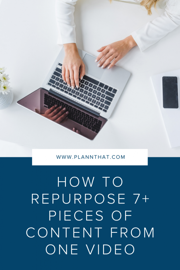 How to repurpose a video