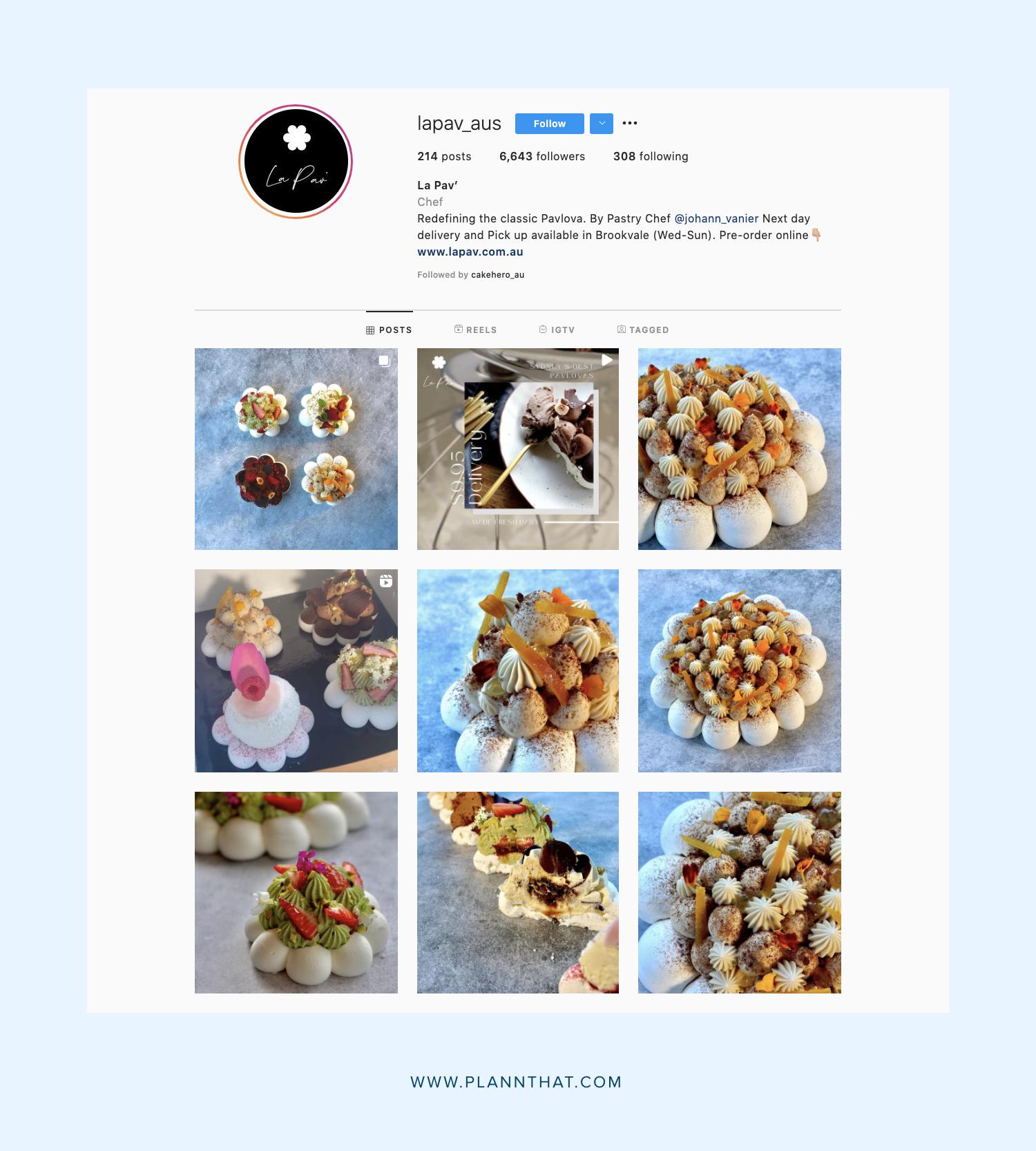 Foodie Instagram