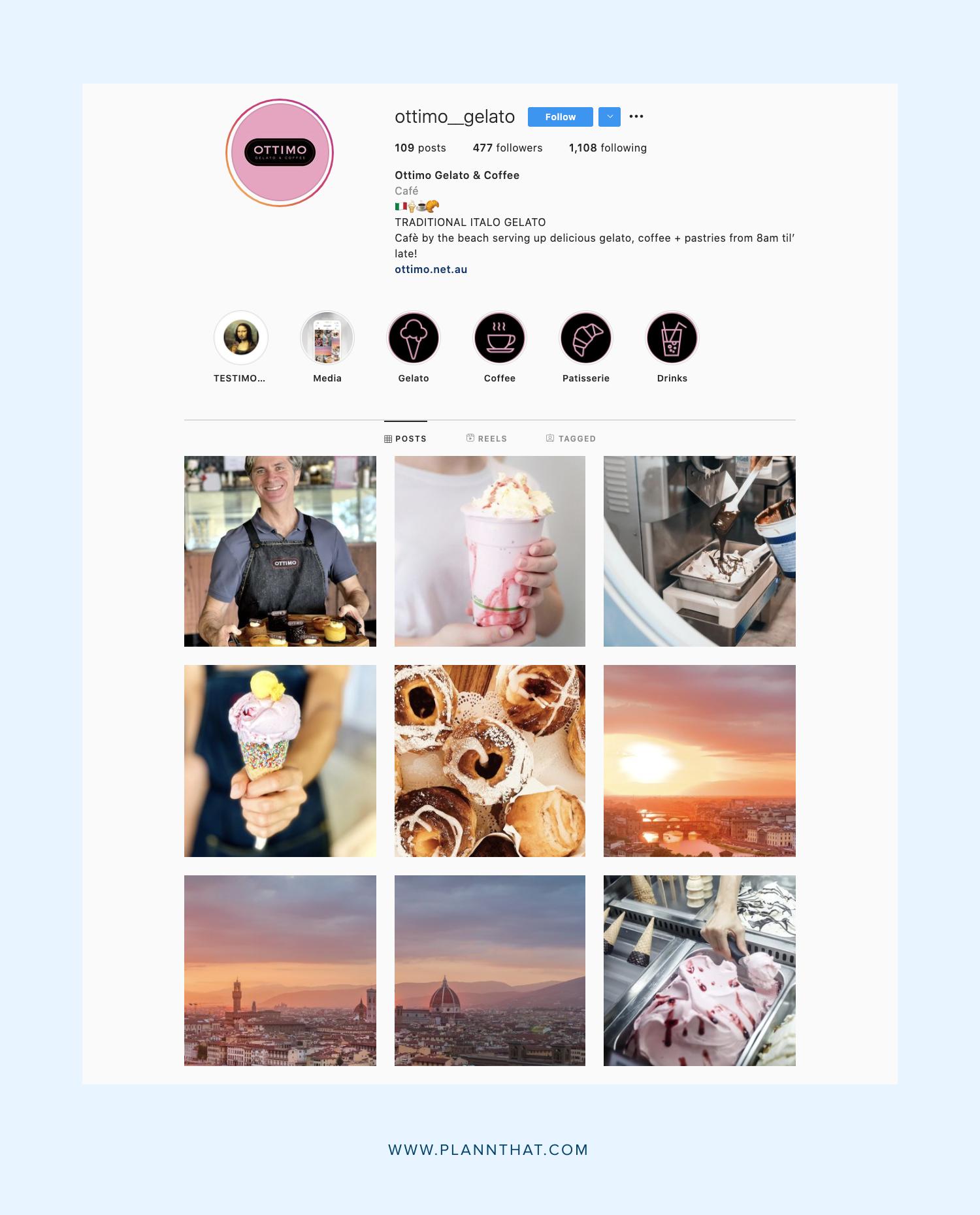 Instagram Food Accounts