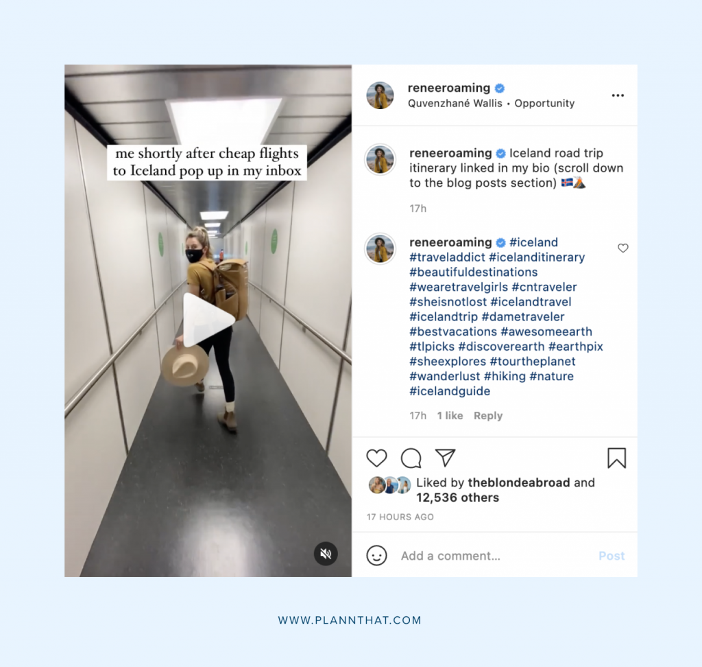 Instagram blog promotion strategy