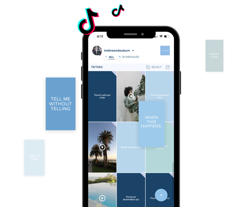 PLAN AND MANAGE YOUR TIKTOK POSTS