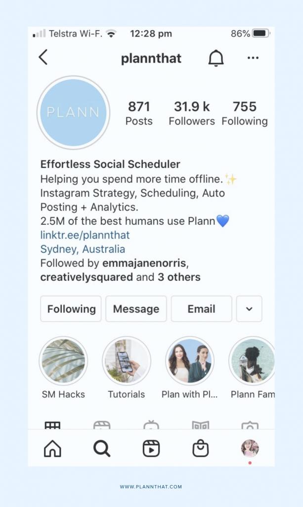 Instagram search engine