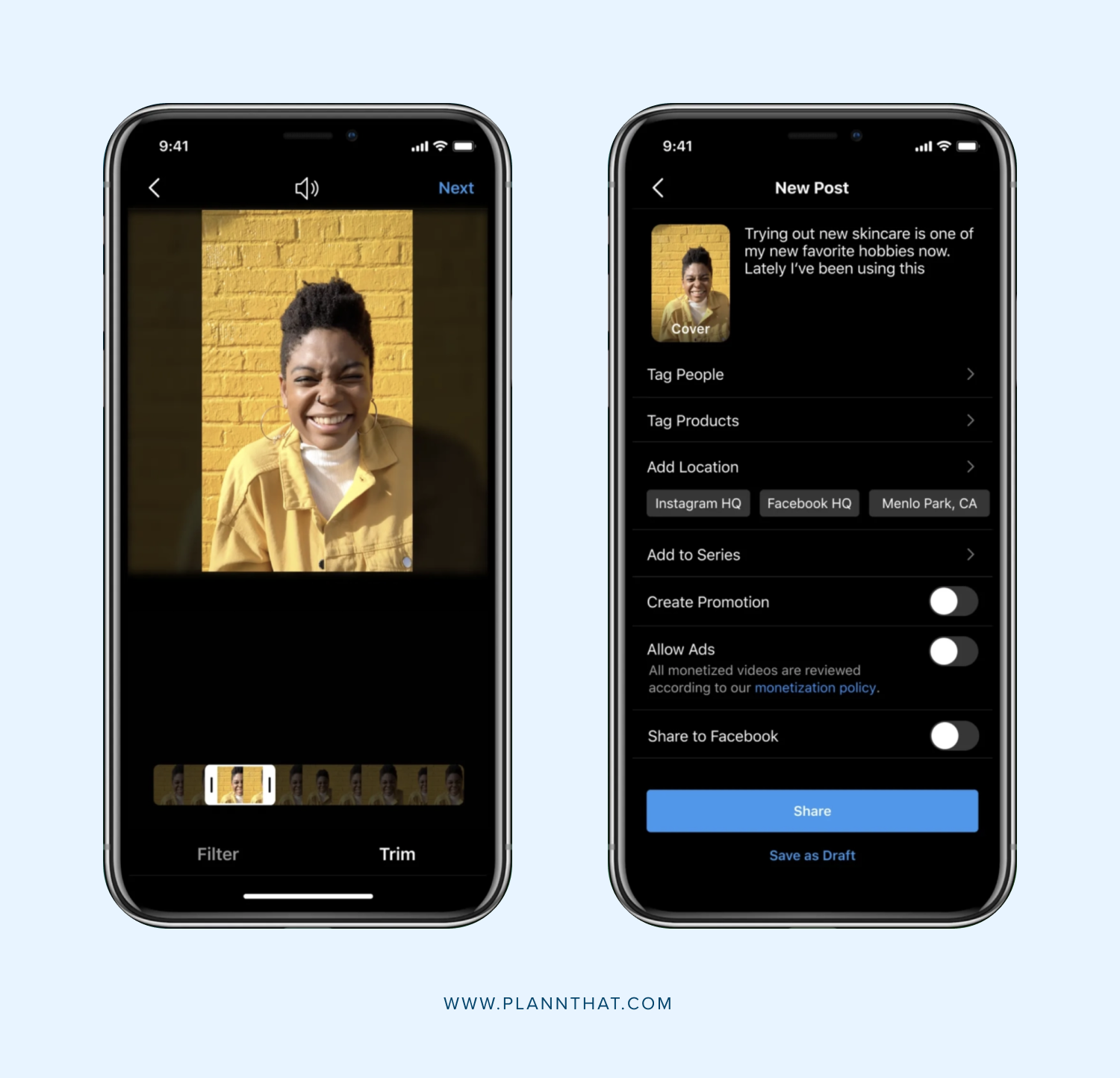 Instagram is adding a new 'video' tab to profiles